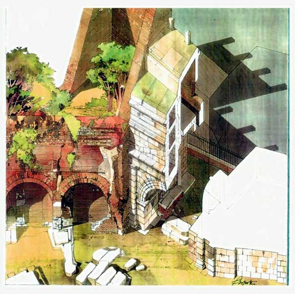 Le porte di roma s sebastiano s paolo tiburtina for Studi di architettura roma