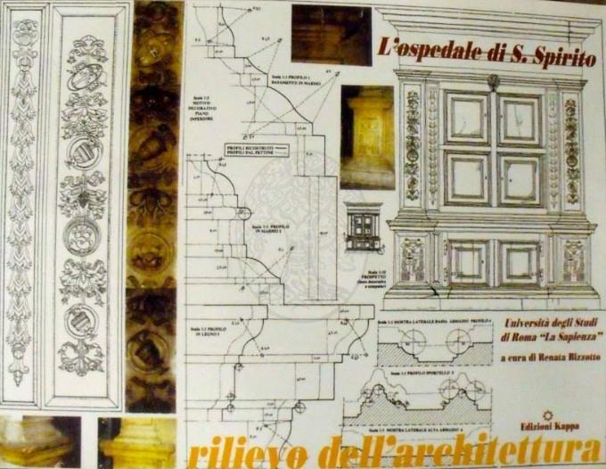 L 39 ospedale di s spirito rilievo dell 39 architettura univ for Studi di architettura roma