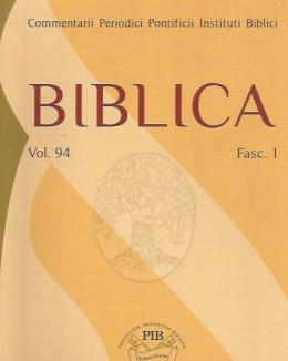 biblica_vol_94_2013_issn_0006_0887.jpg