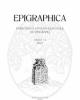 0013 9572 epigraphica vol 81 2019
