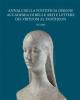 annali della pontificia insigne accademia di belle arti e lettere dei virtuosi al pantheon vol 15