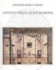 appunti degli scavi di roma
