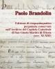 1 brandolin edizioni di pergamene del museo di san giusto