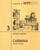 carmina   poesie romane   antonio greggio