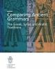 comparing ancient grammars the greek syriac and arabic traditions    sara eco conti and margherita farina