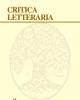 critica letteraria anno xliv  44  2016 rivista trimestrale di critica e letteratura italiana   issn 0390 0142