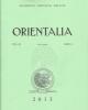 keilschriftbibliographie vol 71 2012 orientalia