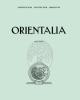 orientalia vol 84 2015   isnn 0030 5367