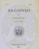 archivio societ romana storia patria
