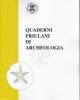 quaderni friulani di archeologia n 22  23 2013