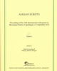 aegean scripts  proceedings of the 14th international colloquium on mycenaean studies  incunabua graeca  vol cv 105