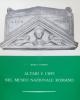 altari e cippi nel museo nazionale romano   a candida
