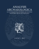 analysis archaeologica an international journal of western mediterranean archaeology   volume 1 2015   a cura di s de vincenzo
