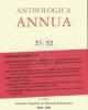 anthologia annua 51 52