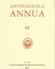 anthologica annua 62