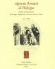 appunti romani di filologia  studi e comunicazioni  di filologia linguistica 2013