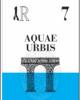 ar 7  aquae urbis i prontuari di archeoroma