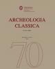 archeologia classica 2019 vol70 ns ii 9   domenico palombi settant anni di archeologia classica