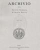 archivio della societ romana di storia patria   vol 135 2012
