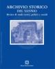 archivio storico del sannio ex rivista storica del sannio   vol 1 e 2 2016