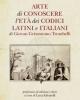 arte di conoscere let dei codici italiani