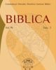 biblica vol 95 2014   commentarii periodici pontificii instituti biblici   issn 0006 0887 4 fascc