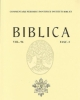 biblica vol 97 2016   commentarii periodici pontificii instituti biblici   issn 0006 0887