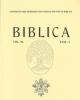 biblica vol 97 2016   commentarii periodici pontificii instituti biblici   issn 0006 0887