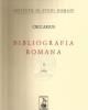 bibliografia romana   vol x 1954