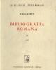 bibliografia romana   vol xi  1955