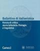 bollettino di italianistica rivista di critica storia letteraria filologia e linguistica