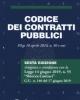 codice dei contratti pubblici 2019