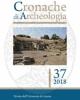 cronache di archeologia 37 2018