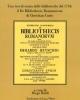 de bibliothecis romanorum di christian curio una tesi di storia delle biblioteche nel 1734