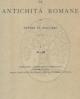 dizionario epigrafico di antichit romane vol i iii  5 voll   ettore de ruggiero