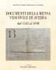 documenti della mensa vescovile di aversa dal 1142 al 1698    a cura di filomena di sarno
