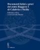 documenti latini e greci del conte ruggero i di calabria e sicilia   julia becker