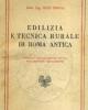 edilizia e tecnica rurale di roma antica   bice crova