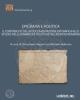 epigrafia e politica il contributo della documentazione epigrafica allo studio delle dinamiche politiche nel mondo romano   a  cura di simonetta segenni e michele bellomo