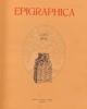 epigraphica periodico internazionale di epigrafia vol lxxiv   74 2012   issn 0013 9572