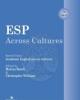 esp across cultures 10  2013    a cura di christopher williams marina bondi