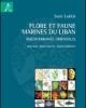 flore et faune marines du liban mditerrane orientale biologie biodiversit biogographie