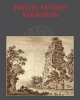 fontes antiqui sabinorum