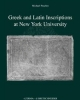 greek and latin inscriptions at new york university ii    michael peachin