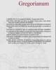 gregorianum   rivista del pug   pontificia universit gregoriana vol 96 2015 4 fascc