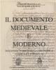 il documento medievale e moderno panorama storico della diplomatica generale e pontificia  p rabikauskas f de lasala