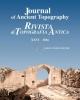 journal of ancient topography   rivista di topografia antica xxvi   2016