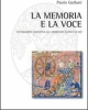 la memoria e la voce unindagine cognitiva sul medioevo