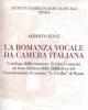 la romanza vocale da camera italiana  alberto iesu