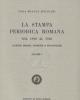 la stampa periodica romana dal 1900 al 1926 scienze morali st